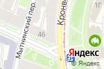 Схема проезда до компании Books в Санкт-Петербурге