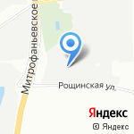 Фабрика Потолков на карте Санкт-Петербурга