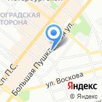 Capricorn на карте Санкт-Петербурга