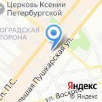 SmartStool на карте Санкт-Петербурга