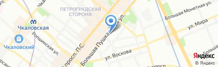 Anna Travel на карте Санкт-Петербурга