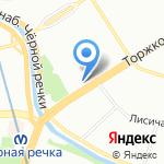 Формула красоты на карте Санкт-Петербурга