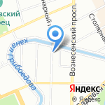Тагмет СПб на карте Санкт-Петербурга