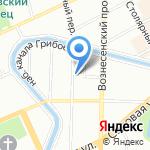 Factura на карте Санкт-Петербурга