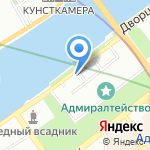 На Адмиралтейской на карте Санкт-Петербурга