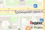 Схема проезда до компании Nailfun в Санкт-Петербурге
