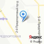 Петербалт на карте Санкт-Петербурга