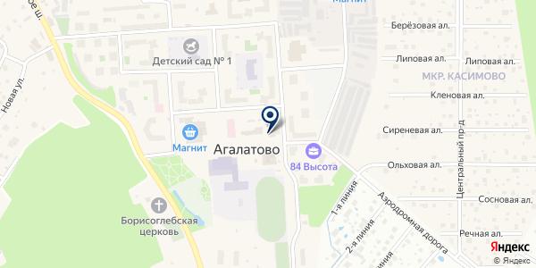 Сбербанк, ПАО на карте Агалатово