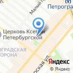 УНР-47 на карте Санкт-Петербурга