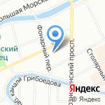 МиниДом на карте Санкт-Петербурга