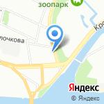 Отель Сити на карте Санкт-Петербурга