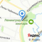 Лео на карте Санкт-Петербурга