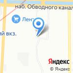 Данимед на карте Санкт-Петербурга
