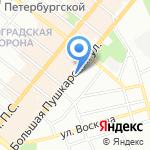Детский сад №52 на карте Санкт-Петербурга