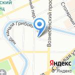 InvaMarket на карте Санкт-Петербурга