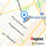 КОНТАКТ ПЛЮС на карте Санкт-Петербурга