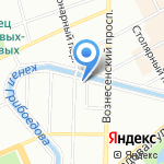 Первый Айкуне-Центр на карте Санкт-Петербурга