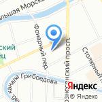 Нертус на карте Санкт-Петербурга