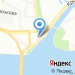 Анданте на карте Санкт-Петербурга