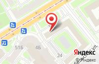 Схема проезда до компании Полиграфия Плюс в Санкт-Петербурге