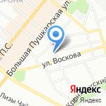 ВАКА на карте Санкт-Петербурга