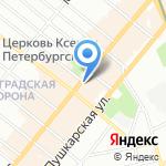 Ортолюкс на карте Санкт-Петербурга