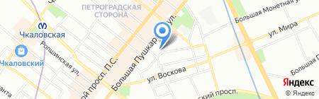 Egocode на карте Санкт-Петербурга