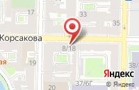 Схема проезда до компании Маяк в Санкт-Петербурге