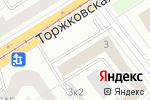 Схема проезда до компании ДАЧА в Санкт-Петербурге