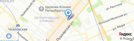 Dessange на карте Санкт-Петербурга