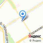 Магазин домашнего текстиля на карте Санкт-Петербурга