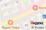 Схема проезда до компании Строительная экспертиза в Санкт-Петербурге
