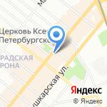 Детский магазин №1 на карте Санкт-Петербурга