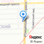 Астра Марин на карте Санкт-Петербурга