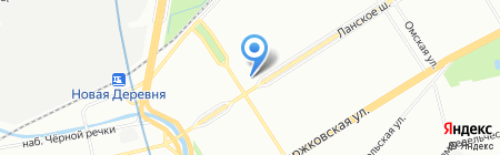 Sandra на карте Санкт-Петербурга