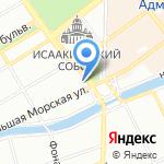 Управление Федеральной службы по техническому и экспортному контролю по Северо-Западному федеральному округу на карте Санкт-Петербурга