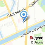 Baldini на карте Санкт-Петербурга
