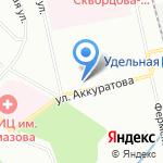 Автосервисная мастерская на карте Санкт-Петербурга