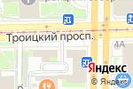 Схема проезда до компании Юг Консалт Сервис в Санкт-Петербурге