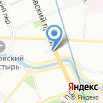 Межрайонный врачебно-физкультурный диспансер №1 на карте Санкт-Петербурга