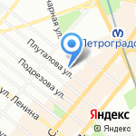 Голубые береты ДОСААФ России-Панда на карте Санкт-Петербурга