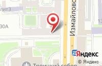 Схема проезда до компании Авалонъ в Санкт-Петербурге