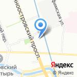 Омега Саунд на карте Санкт-Петербурга