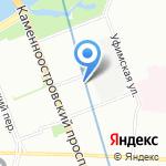 Upgrade beauty studio на карте Санкт-Петербурга