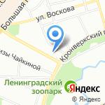 Архитектура Будущего на карте Санкт-Петербурга