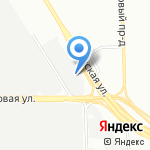 Прогресс Авто на карте Санкт-Петербурга