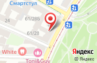 Схема проезда до компании Прогресс в Санкт-Петербурге