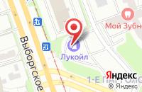 Схема проезда до компании Эко-Энергетика в Санкт-Петербурге