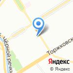 Винтер Климат на карте Санкт-Петербурга