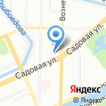 Синтар на карте Санкт-Петербурга